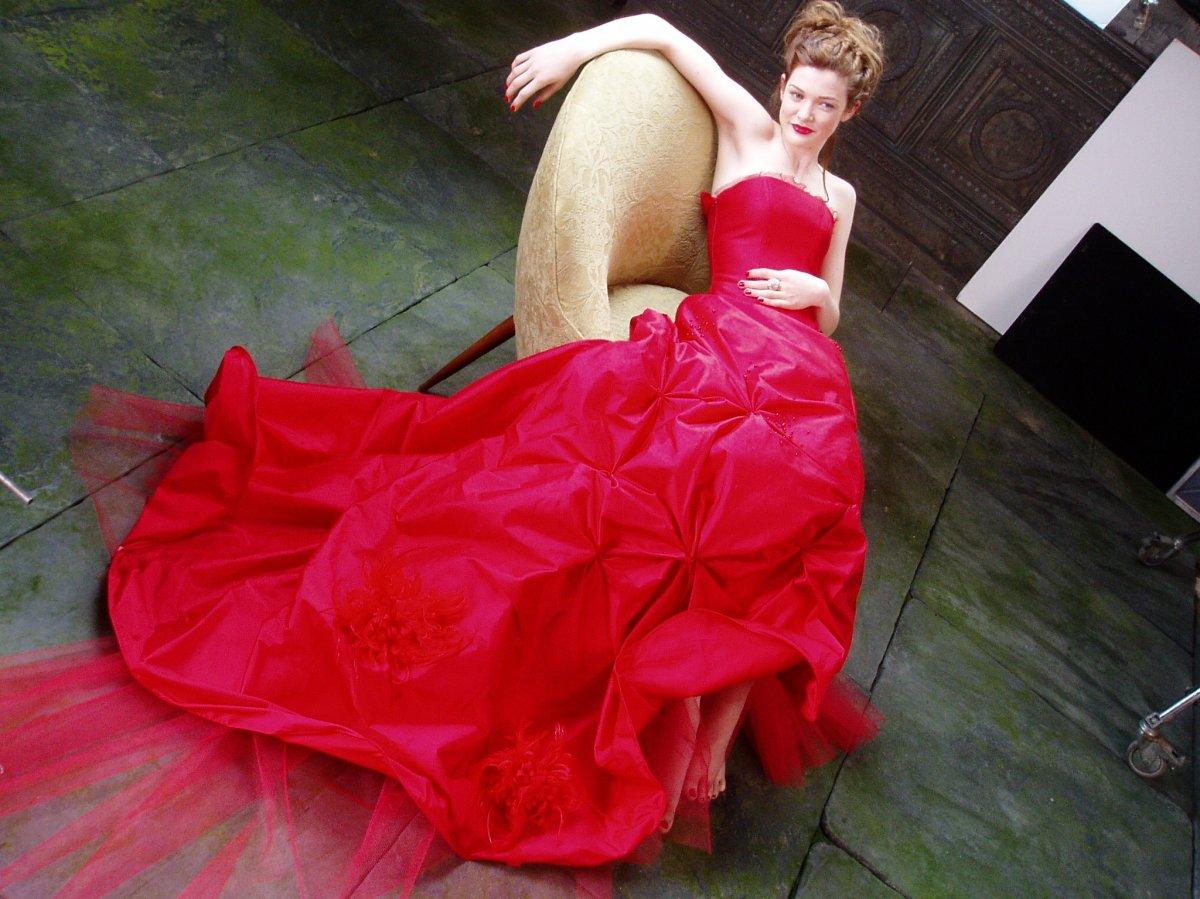 Gown I designed for a Haagen Dazs Japan Commercial