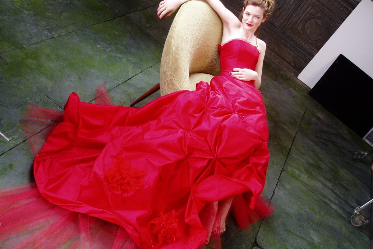 Gown I designed for a Haagen Dazs Japan Commercial
