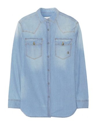 PIERRE BALMAIN Denim shirt $112.23 Original price $561.15 80% off