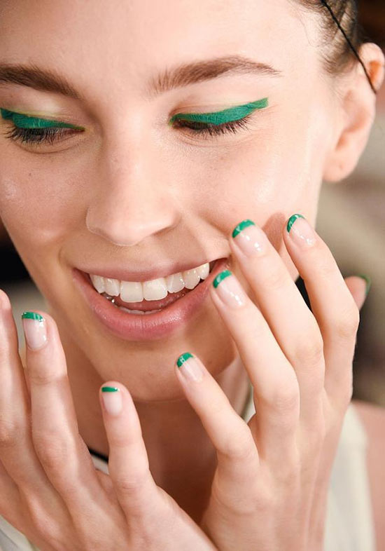 New_York_Fashion_Week_spring_2016_beauty_Monique_Lhuillier_nails
